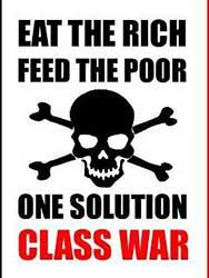 eat the rich, feed the poor