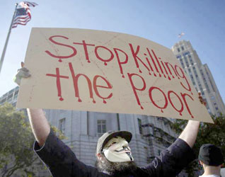 Stop killing the poor