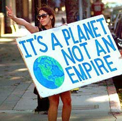 It's a planet not an empire.